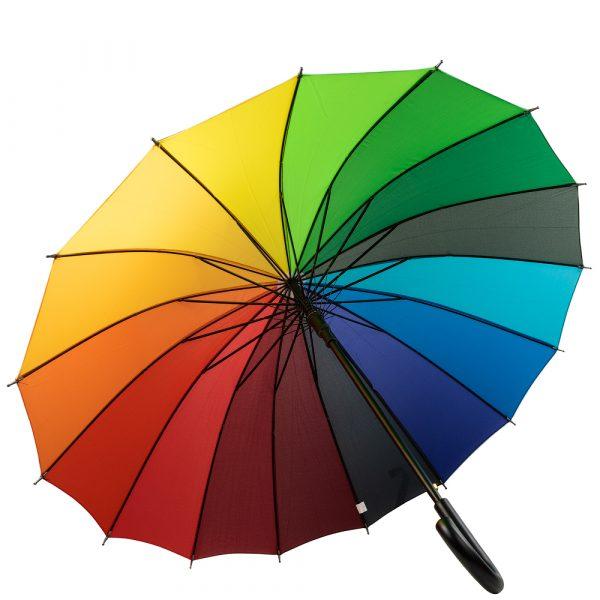 Зонт-трость женский полуавтомат ETERNO (DETBD9527)