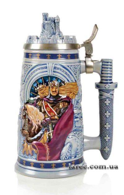 Подарочная коллекционная кружка для пива «Рыцари королевства»