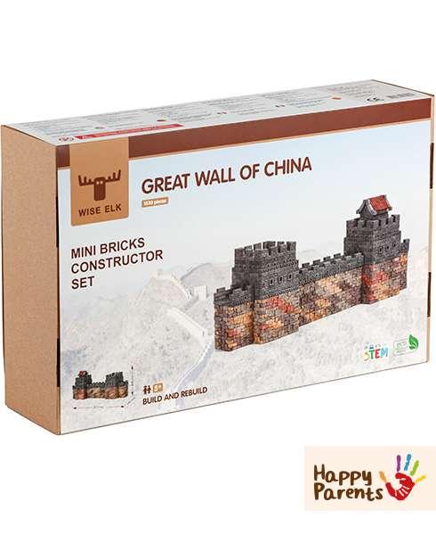 Керамический конструктор из кирпичиков «Великая Китайская Стена»