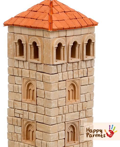 Керамический конструктор из кирпичиков «Башня»