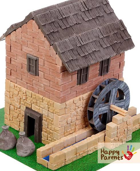 Керамический конструктор из кирпичиков «Водяная мельница»