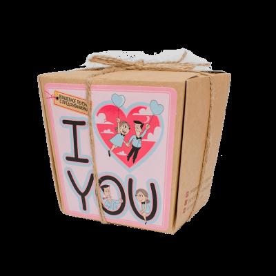 Печенье с предсказаниями «I love you»