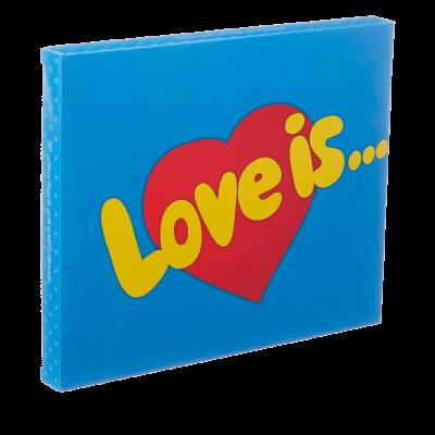 Шоколадный набор «Love is» (большой)