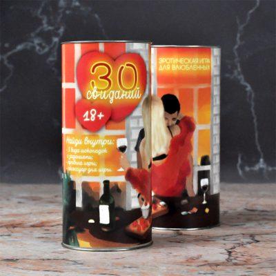 """Шоколадная игра """"30 свиданий"""" 150 г"""