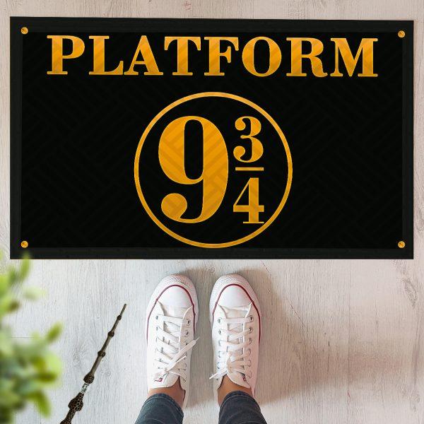 Коврик придверный с принтом «Платформа 9 3/4 (Гарри Поттер)»