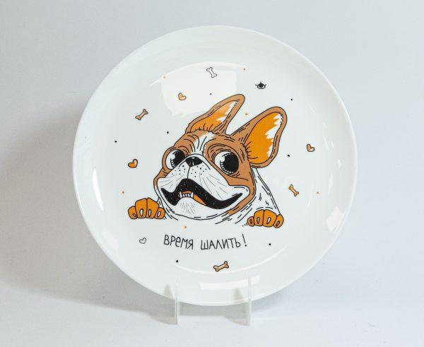 Тарелка PAPAdesign «Время шалить»