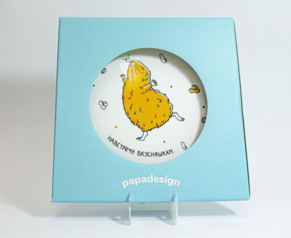 Тарелка PAPAdesign «Навстречу вкусняшкам»