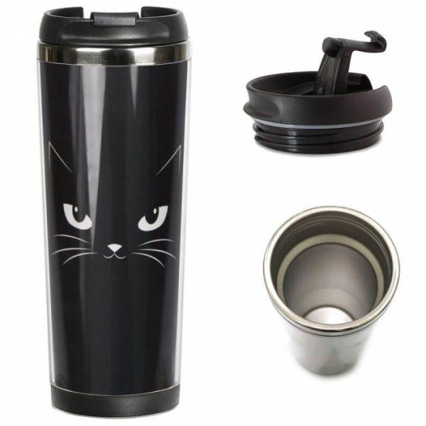Термокружка ZIZ «Кошачья»