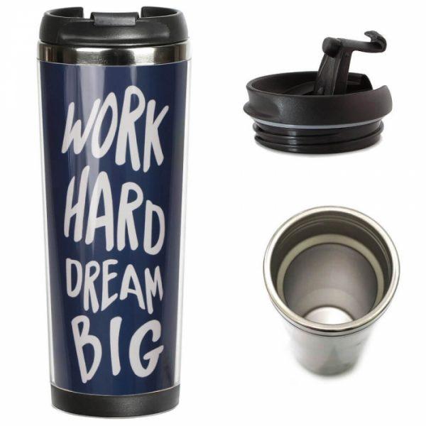 Термокружка ZIZ «Мечтай Работай»