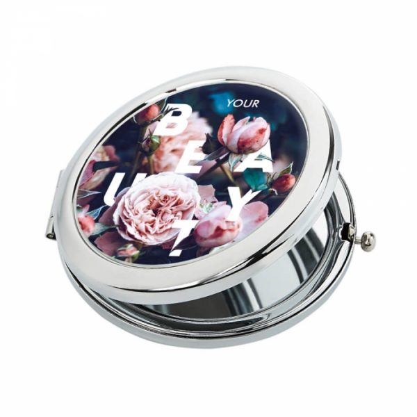 Карманное зеркало Ziz «Розы»