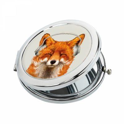 Карманное зеркало Ziz «Музыкальная лиса»