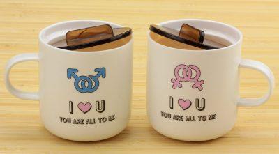 Набор чашек «Марс и Венера. Love you» Cinaya