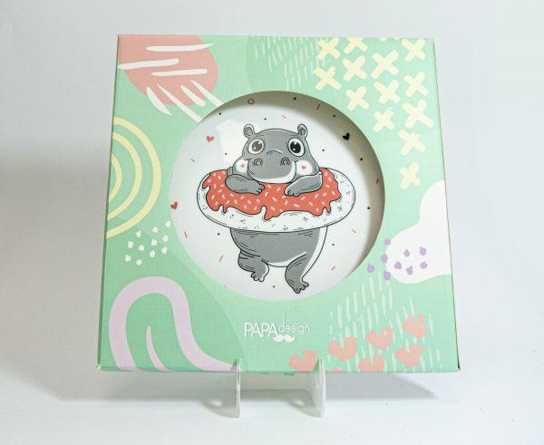 Тарелка PAPAdesign «Donut Worry»