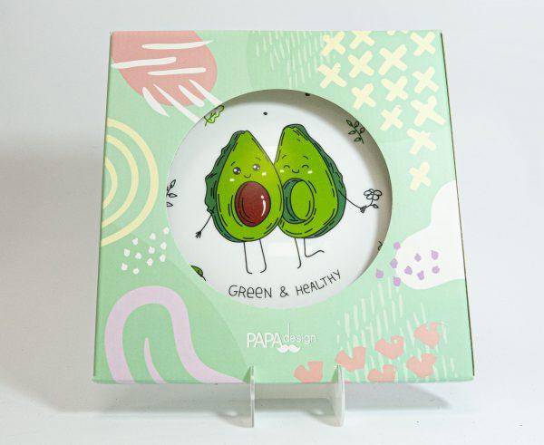 Тарелка PAPAdesign «Авокадо»