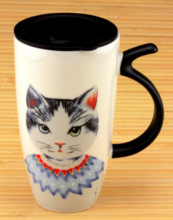 Кружка с поилкой «MR CAT»