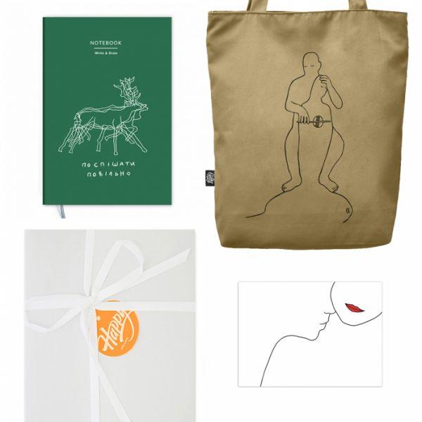 Подарочный набор «Поспішати повільно» Gifty
