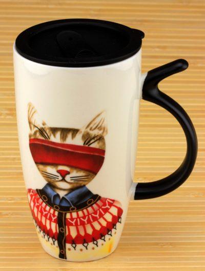 Кружка с поилкой «Прятки» MR CAT