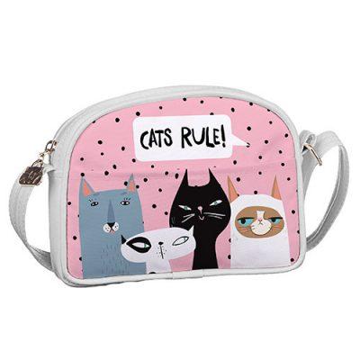 Сумка для подростков Junior girl «Cats rule!»
