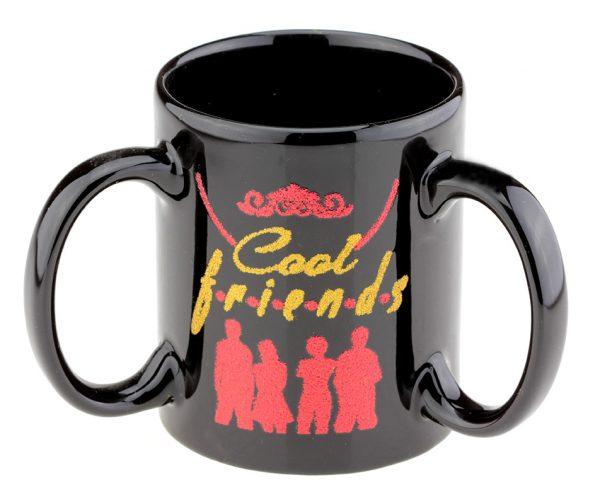 Кружка с 3 ручками «Cool Friends» AURA