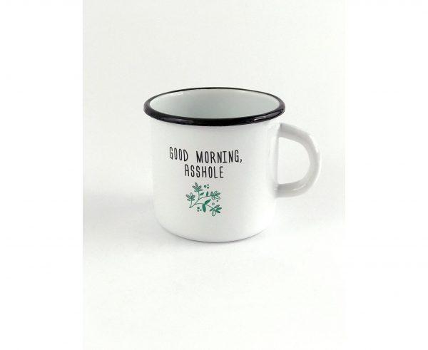 Чашка «Good morning, asshole»