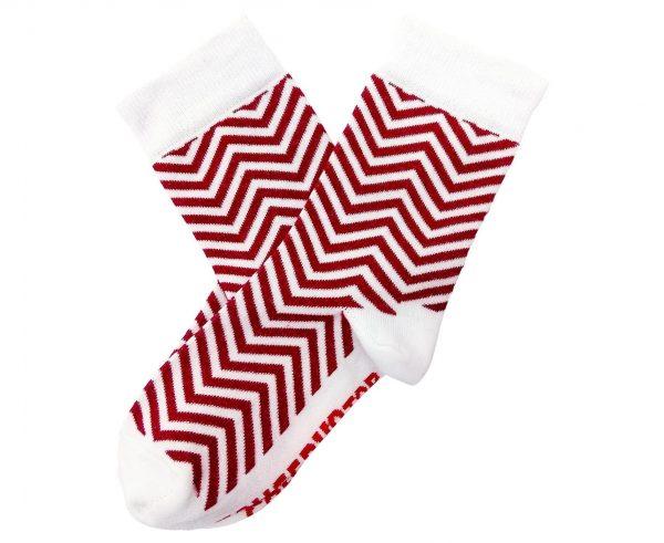 Банка носков «New Year socks» красные