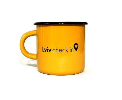 Чашка «Lviv check in»