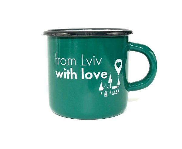 Чашка «From Lviv with love»