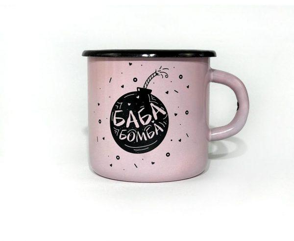 Чашка «Баба бомба»