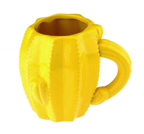 Кружка «Кактус» (желтая)