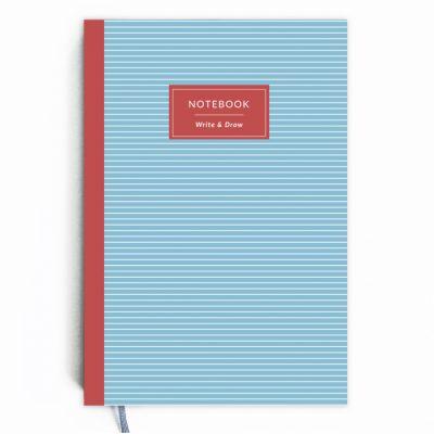 Блокнот Write&Draw «Blue Stripes»
