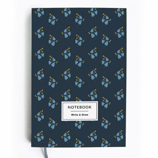Блокнот Write&Draw «Blue Flowers»
