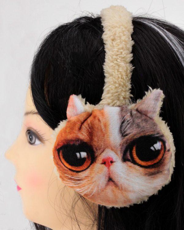 Наушники меховые «Кошка»