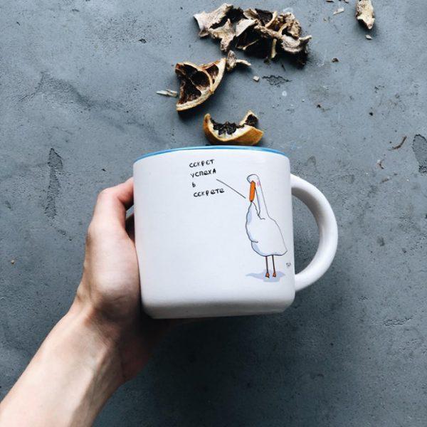 Подарочный набор «Гусь в офисе» Gifty