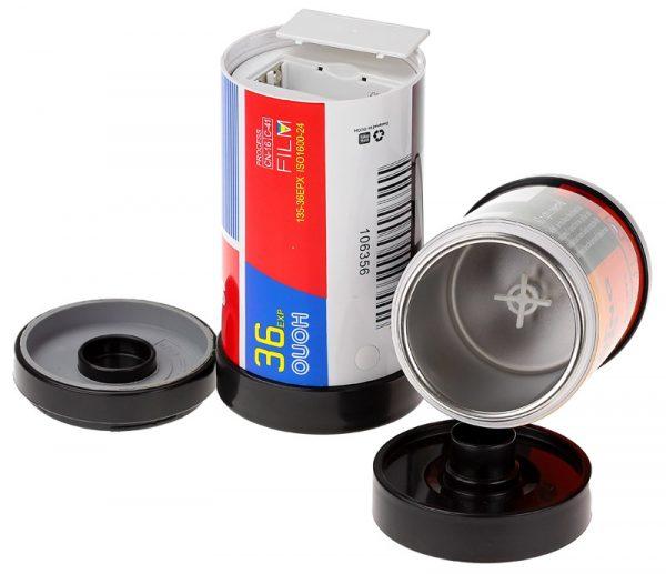 Термокружка «Фотопленка» HONO с автоматическим миксером