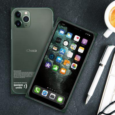Шоколадная плитка «iPhone 11 Pro Max»