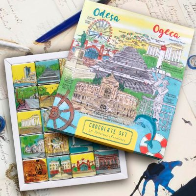 Шоколадный набор «Одеса/ Odesa»