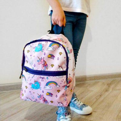Рюкзак детский light «Единороги»