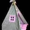 Вигвам Хатка комплект «Принцесса» розовый с мягким ковриком