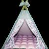 Вигвам Хатка комплект «Балерины» с мягким ковриком