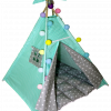 Вигвам Хатка комплект  «Солнце» с мягким ковриком
