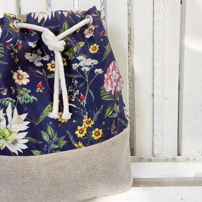 Рюкзак тканевый Summer «Цветы»