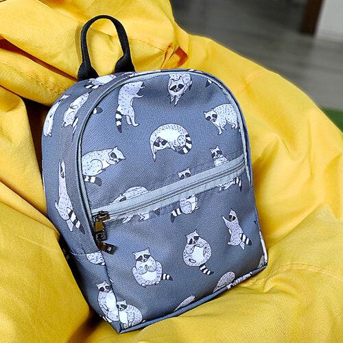 Рюкзак детский light «Енотики»