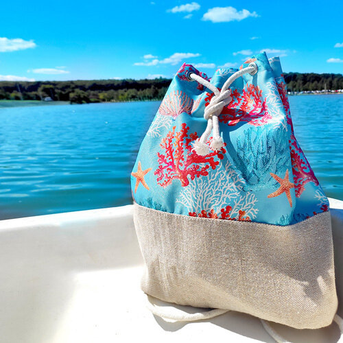 Рюкзак тканевый Summer «Кораллы»