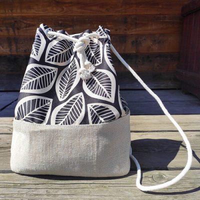 Рюкзак тканевый Summer «Листья»