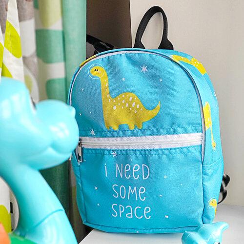 Рюкзак детский light «I need some space» Динозавр