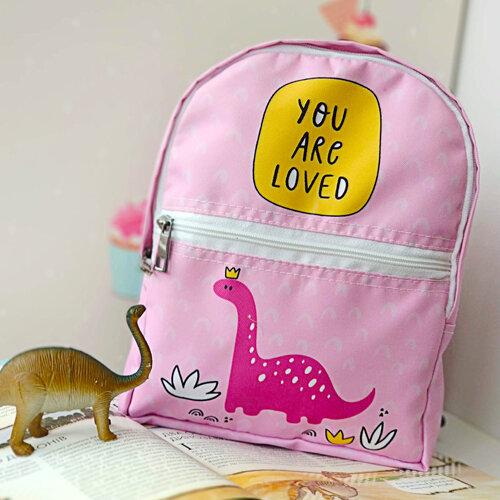 Рюкзак детский light «You are loved» Динозавр