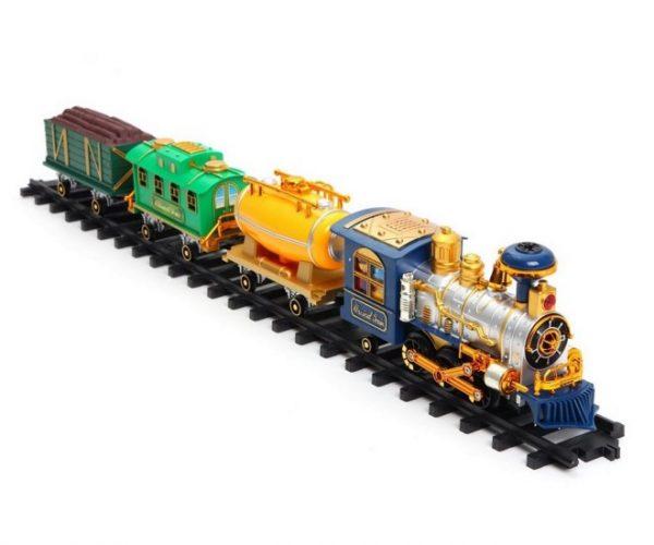 Игрушечная железная дорога «Золотая стрела» на радиоуправлении