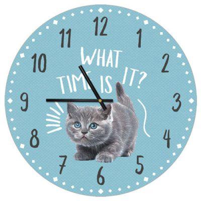 Часы настенные «What time is it?»