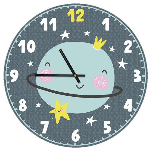 Часы настенные Планета