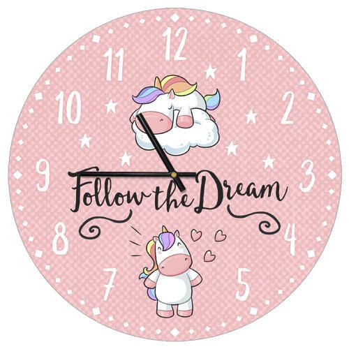 Часы настенные «Follow the Dream»